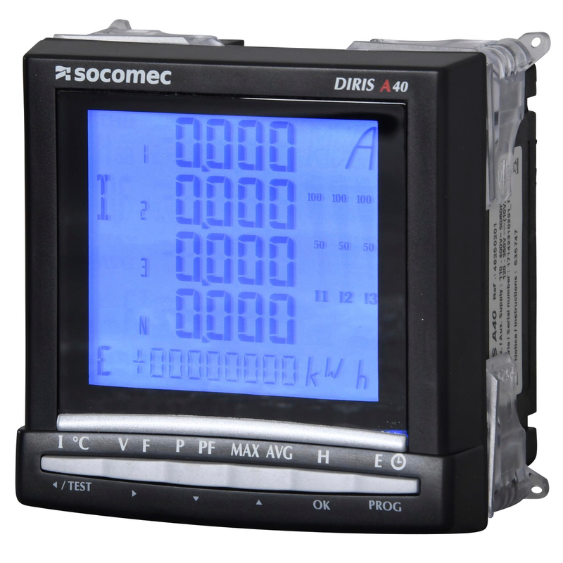 Diris A40 41 A10 A20 Multifunction Meters Socomec
