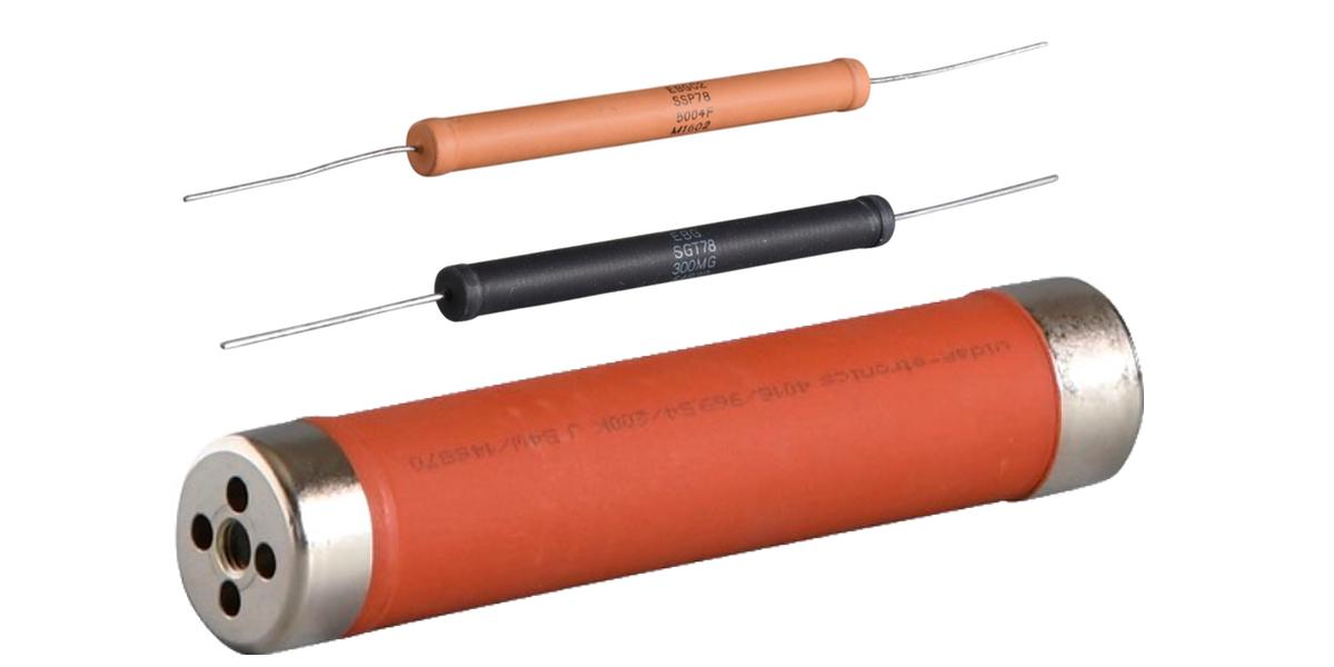 High Voltage Snubber : High voltage resistors